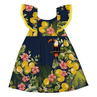 Vestido Infantil Nanai Cetim 600694.0001.16 Nanai