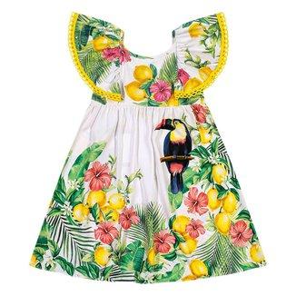 Vestido Infantil Nanai Cetim 600694.6826.4 Nanai