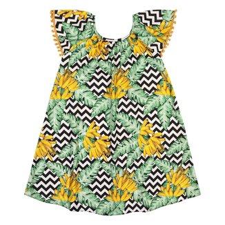 Vestido Infantil Nanai Cetim 600696.9010.10 Nanai