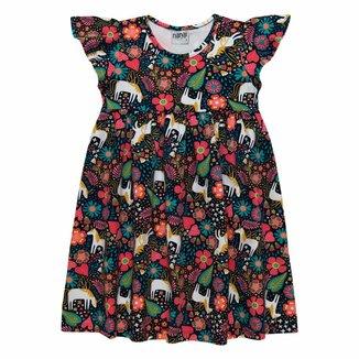 Vestido Infantil Nanai Cotton 137620.6826.2 Nanai