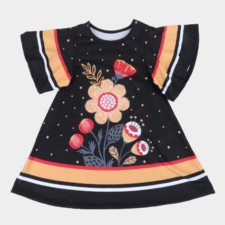 Vestido Infantil Nanai Floral