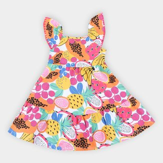 Vestido Infantil Nanai Frutas Feminino
