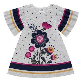 Vestido Infantil Nanai Meia Malha 600657.9010.3 Nanai