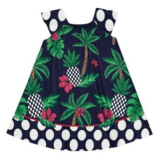 Vestido Infantil Nanai Meia Malha 600672.6826.2 Nanai