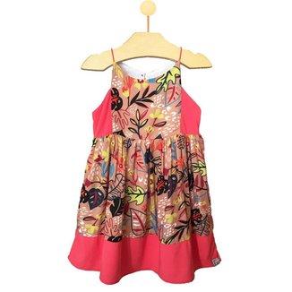 Vestido Infantil Pandi Eva Recortes Feminino