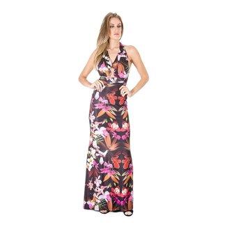 Vestido Longo Floral Alphorria 38