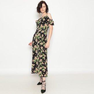 Vestido Longo Floral Operate Feminino