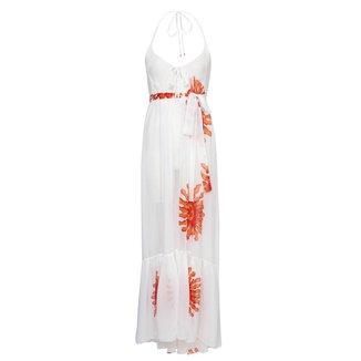 Vestido Longo Laço Sol Feminino