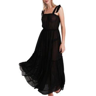 Vestido Longo Laço