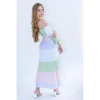 Vestido Longo Tricot Joyce - Glam Tricot
