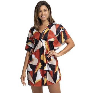 Vestido Marcyn Tanzânia Geométrico