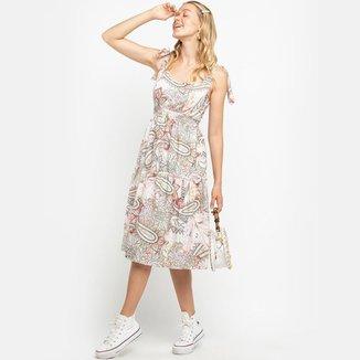 Vestido Midi Pasley Off White LA LIMA