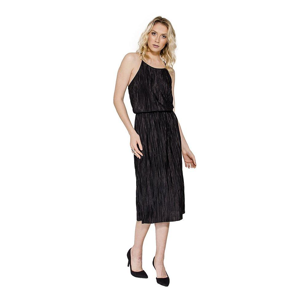735658882 Vestido Midi Plissado Colcci - Compre Agora | Netshoes
