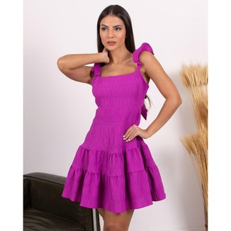 Vestido Miss Misses Aberto Nas Costas Com Ziper Laranja - P