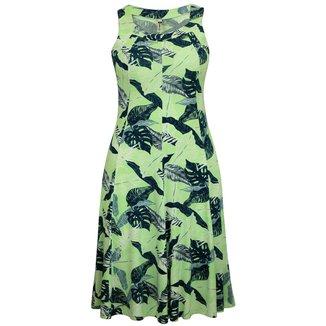 Vestido Pau a Pique Estampado Feminino