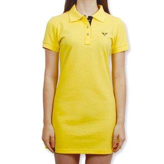Vestido Polo Stouro - Amarelo