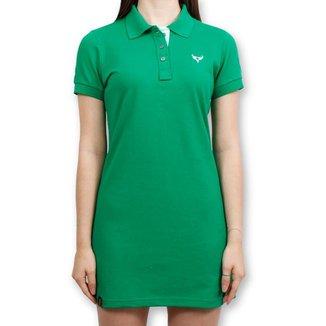 Vestido Polo Stouro - Verde Bandeira