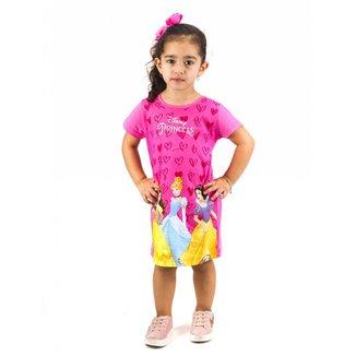 Vestido Princesas Disney Bebê Menina Kamylus