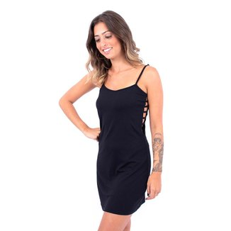 Vestido Recortes na Lateral Up Side Wear