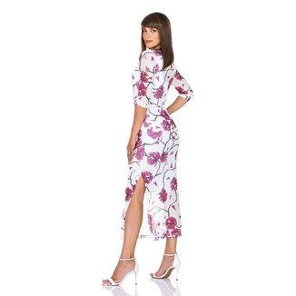 Vestido Renata Branco-G
