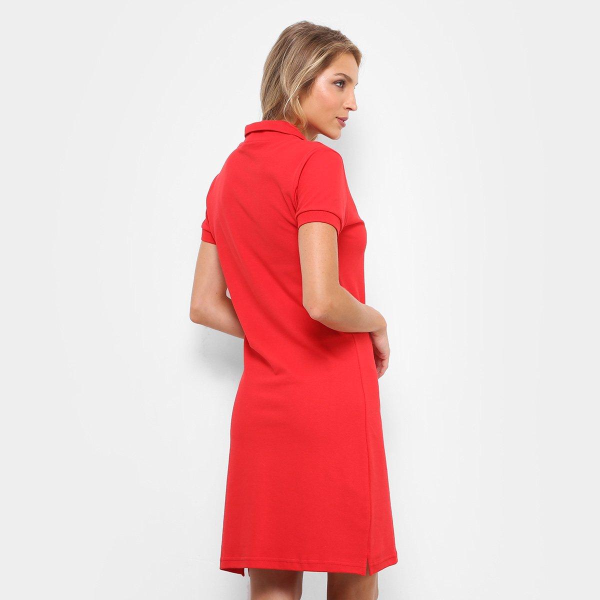 395c9fd4621 ... Vestido RG 518 Curto Polo Com Bordado - Vermelho. FEMININO  OFERTAS   OPEC