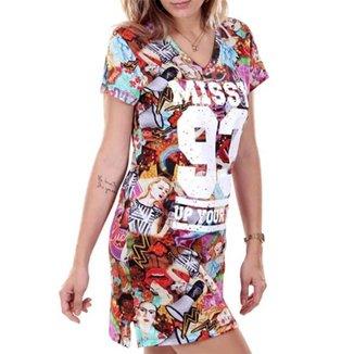 Vestido Tee Dress Qix Missy Special We Do It
