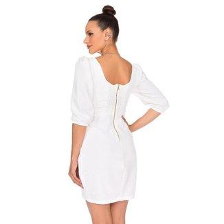 Vestido Thássia Branco-G