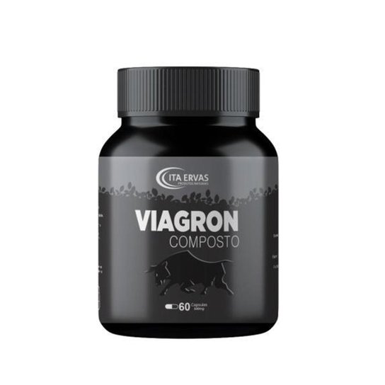 Viagron Composto 500mg Itaervas 60 Cápsulas -