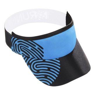 Viseira para Corrida e Triathlon HUPI Biometria Azul