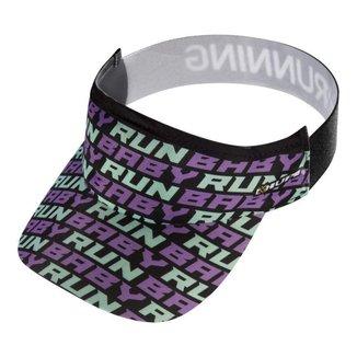 Viseira para Corrida e Triathlon HUPI Run Baby Run