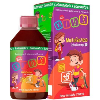 Vita Kids Vitaminas e Minerais 250ml