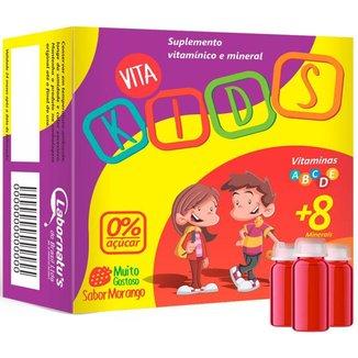 Vita Kids Vitaminas e Minerais Flaconetes 30 doses