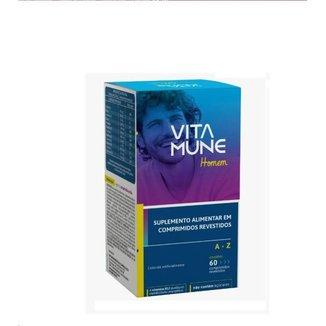 Vita Mune A-z Homen para Bariátricos Com 60 Comprimidos