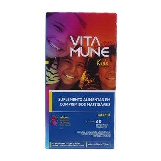 Vita Mune Kids Polivitamínico 60 Comprimidos Mastigáveis