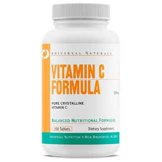 Vitamin C Formula (100 Tabs) - Universal Nutrition