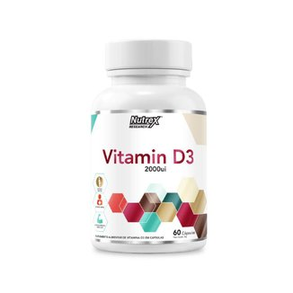 Vitamin D3 (60 Cápsulas) - Nutrex
