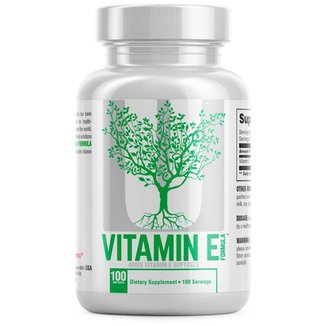 Vitamin E (100 Softgels) - Universal Nutrition