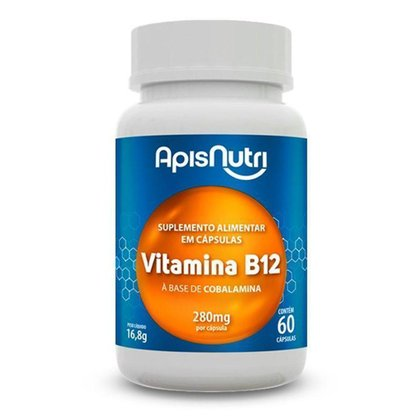 Vitamina B12 Apisnutri 60 cápsulas