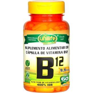 Vitamina B12 Cobalamina Vegana 60 cápsulas de 450mg