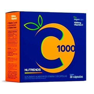 Vitamina C 1000mg Nutrends 30 Cápsulas