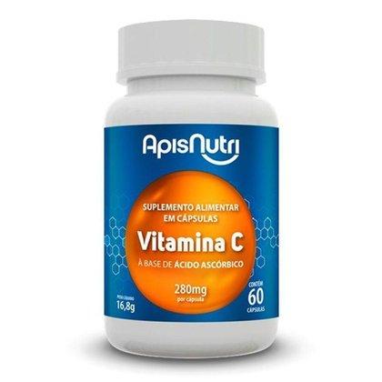 Vitamina C Ácido Ascórbico Apisnutri 60 cápsulas