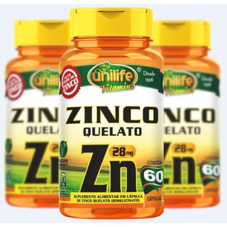 Vitamina C Ácido Ascórbico Vegana 60 cápsulas Kit com 3