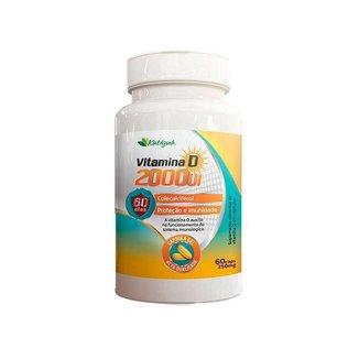 Vitamina D 2000 UI - 60 Cápsulas - Katigua