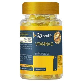 Vitamina D 250mg - 120 Cáps - Soulife