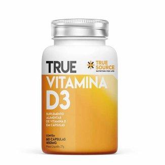 Vitamina D3 2000UI - 60 Cápsulas - True Source