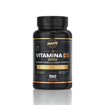 Vitamina D3 2000UI Sem Glútem 150 Cáps