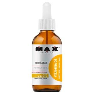 Vitamina D3 30 ml - Max Titanium