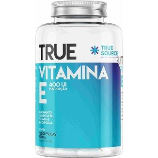Vitamina E (100 Caps) - True Source