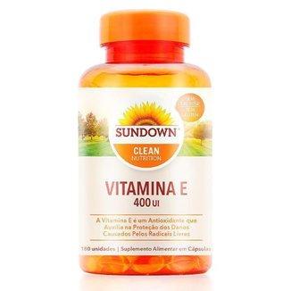 Vitamina E 400UI - Sundown Vitaminas