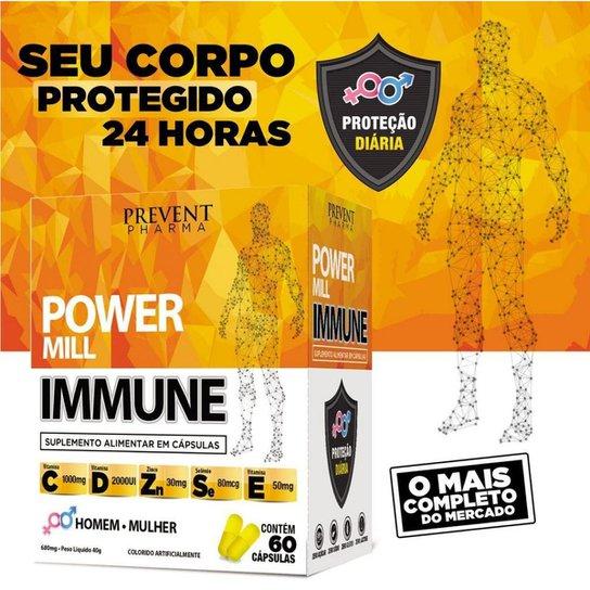 Vitaminas C D E + Zinco Selenio Power Immune 180 Caps 3cxs -